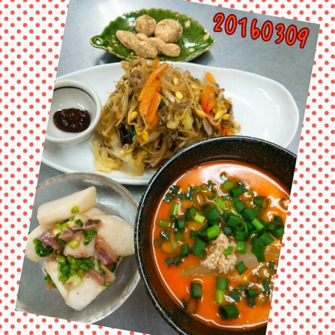お料理教室(^q^)-160309-