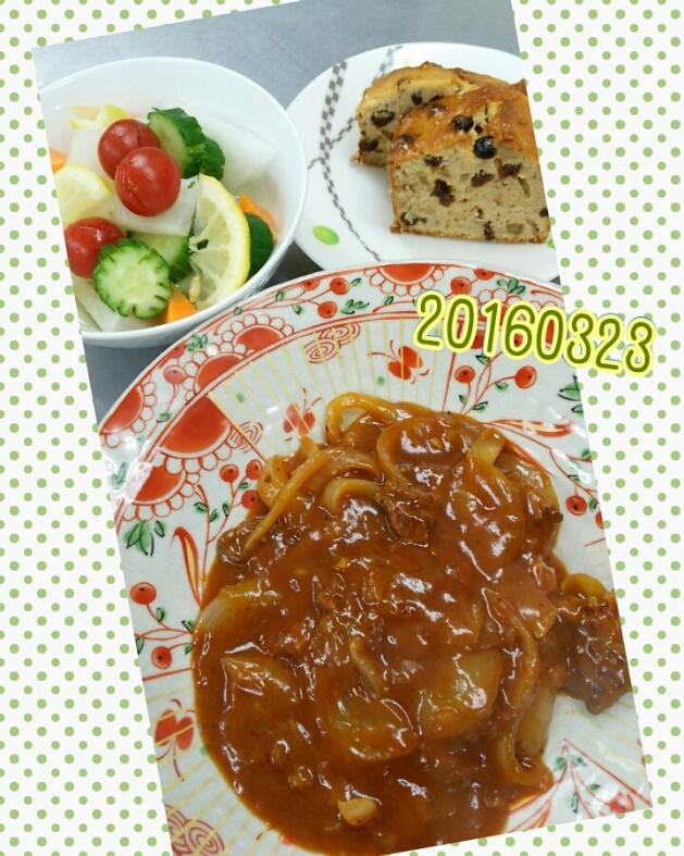 お料理教室(^q^)-160323-