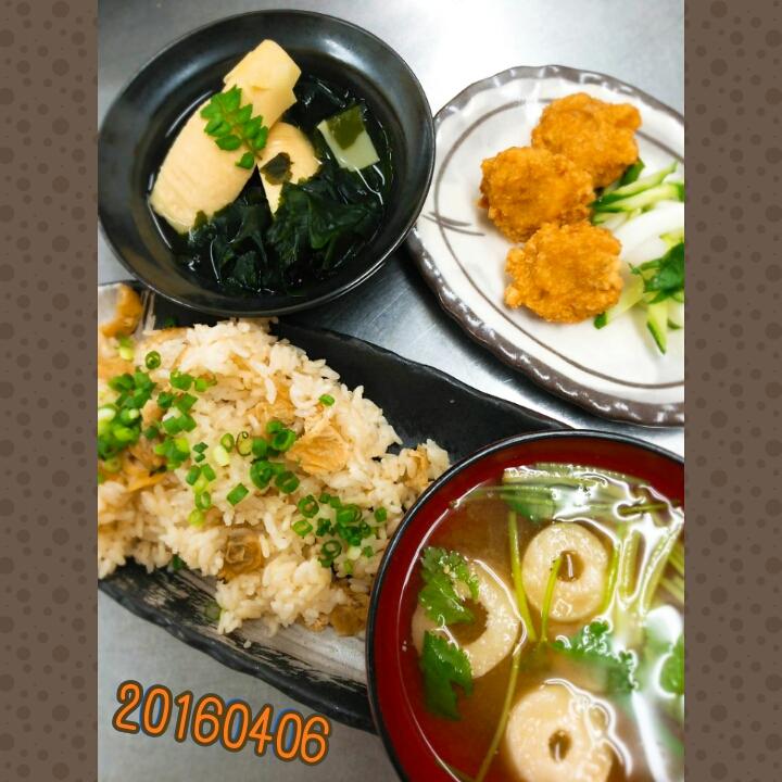お料理教室(^q^)-160406-