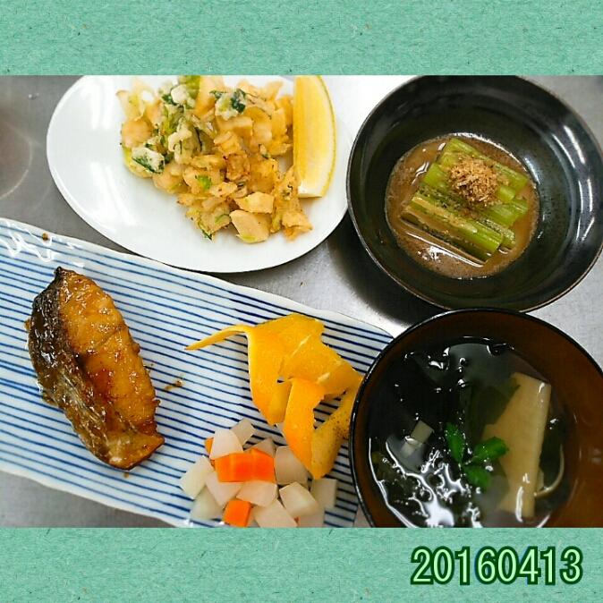 お料理教室(^q^)-160413-
